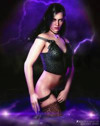 The Witcher l Yennefer l by SKstalker
