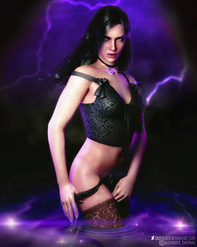 The Witcher l Yennefer l