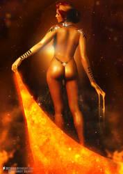 The Witcher l Triss Merigold l by SKstalker