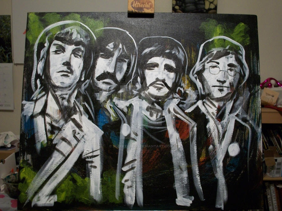 Beatles by Alberto-Rios