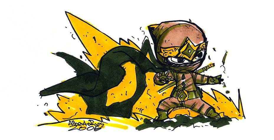 a ninja by Alberto-Rios