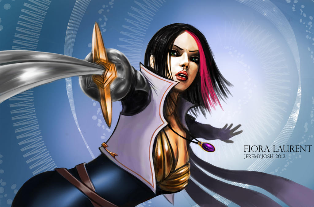 League of Legends: Fiora Laurent by jeremyjosh on DeviantArt