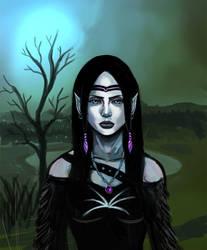Night Elf Princess by jeremyjosh