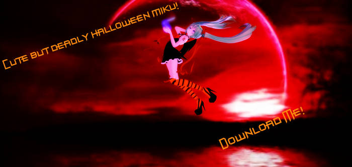 Cute But Deadly Halloween Miku Download~! by TheChaoticMuffin