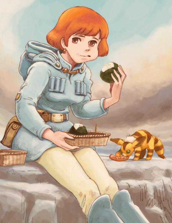 Nausica by otenba-bekki