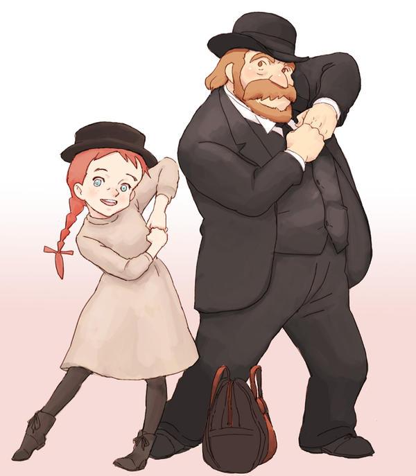 Anne and Matthew by otenba-bekki