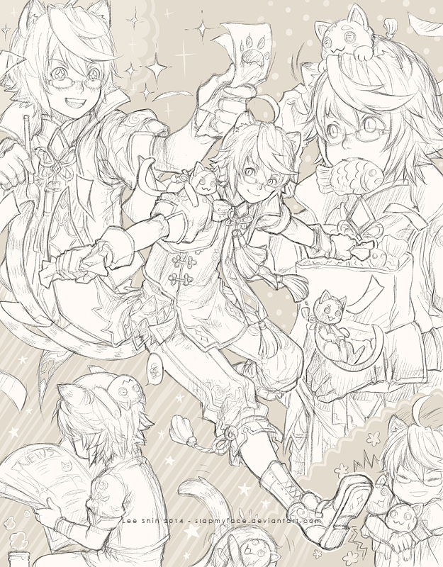 extra - Sketchpage by slapmyface