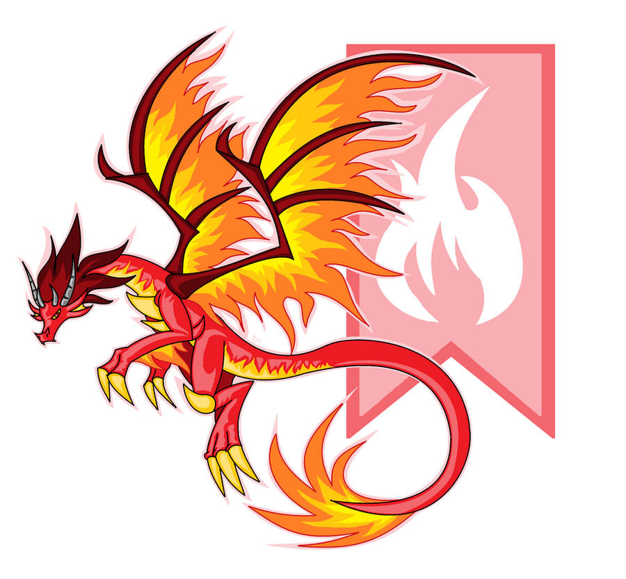 High Quality Dragon City   Flame Dragon By Edge14 ...