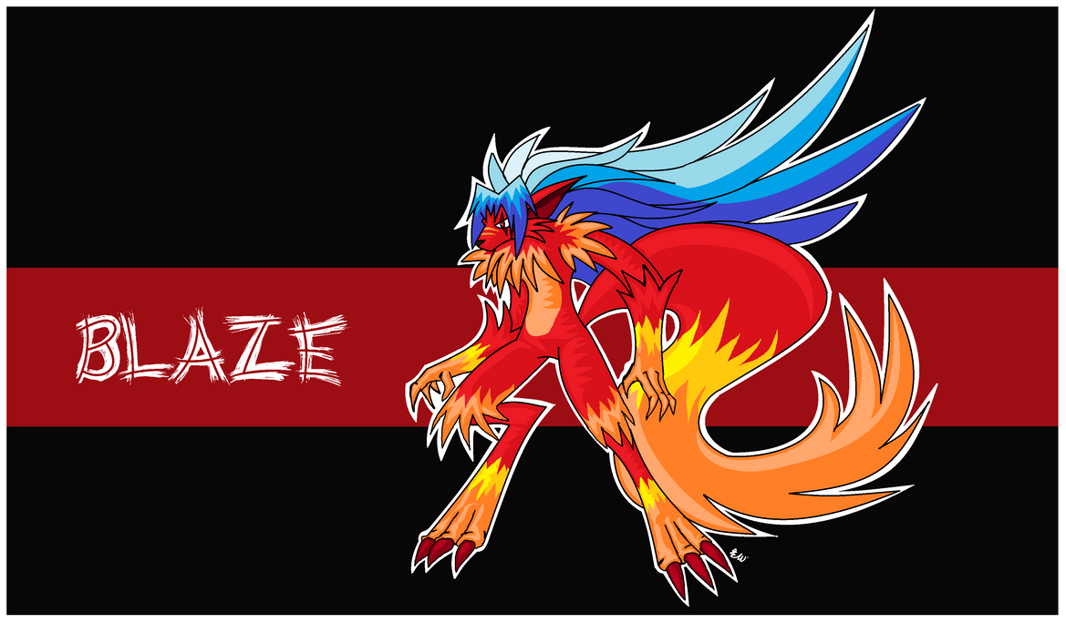 Disciples of Wolfgang - Blaze by Edge14