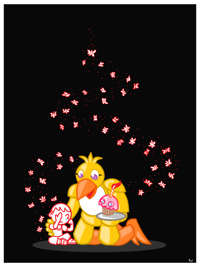 Chica and Friend by Edge14