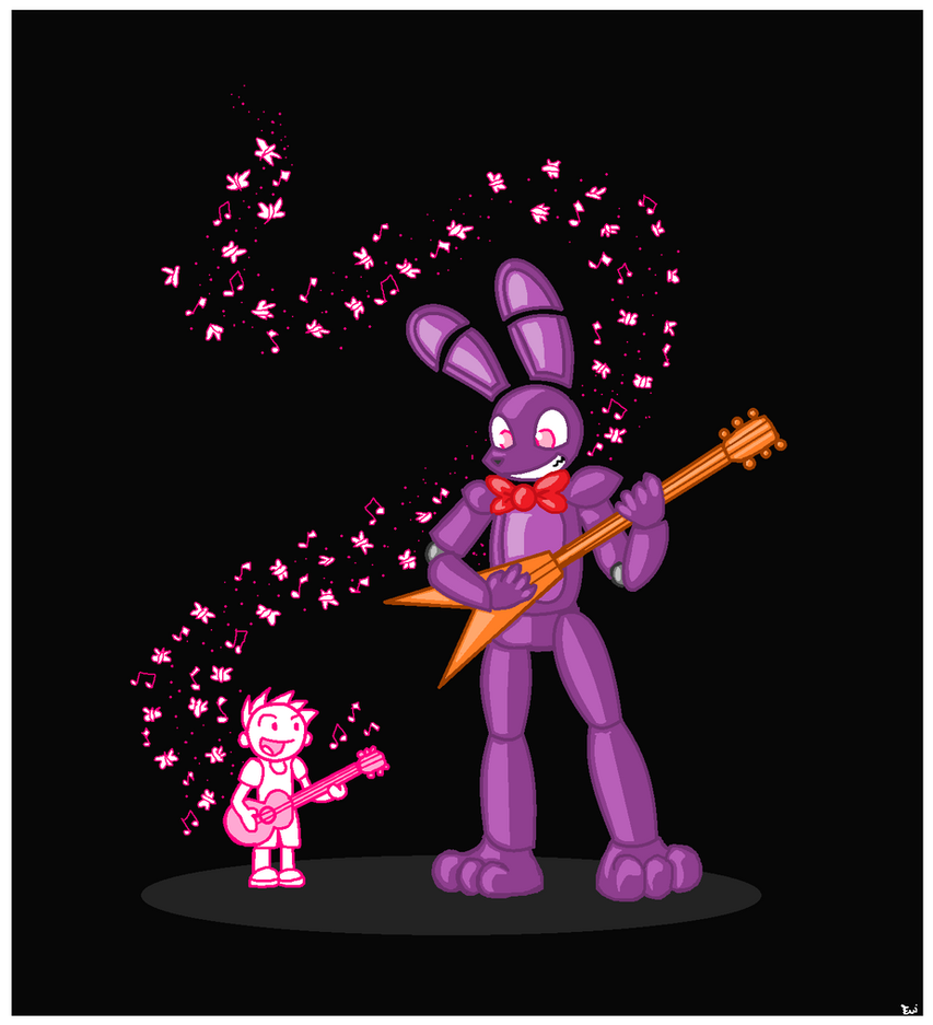Bonnie and Friend by Edge14