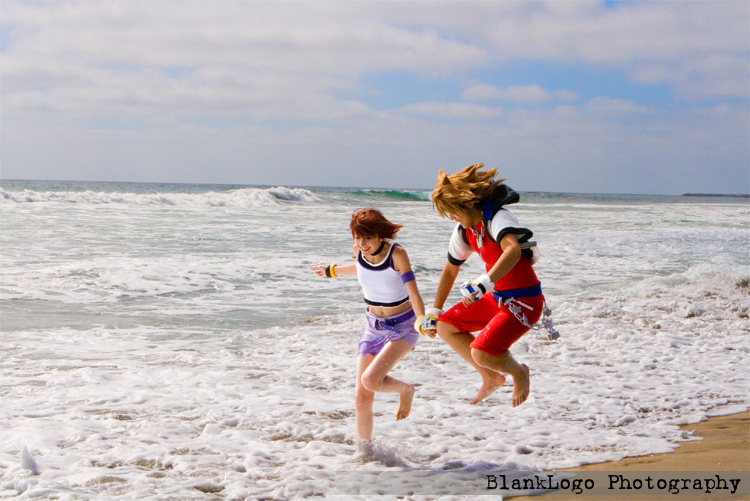 Kairi + Sora - Kingdom Hearts by blanklogo