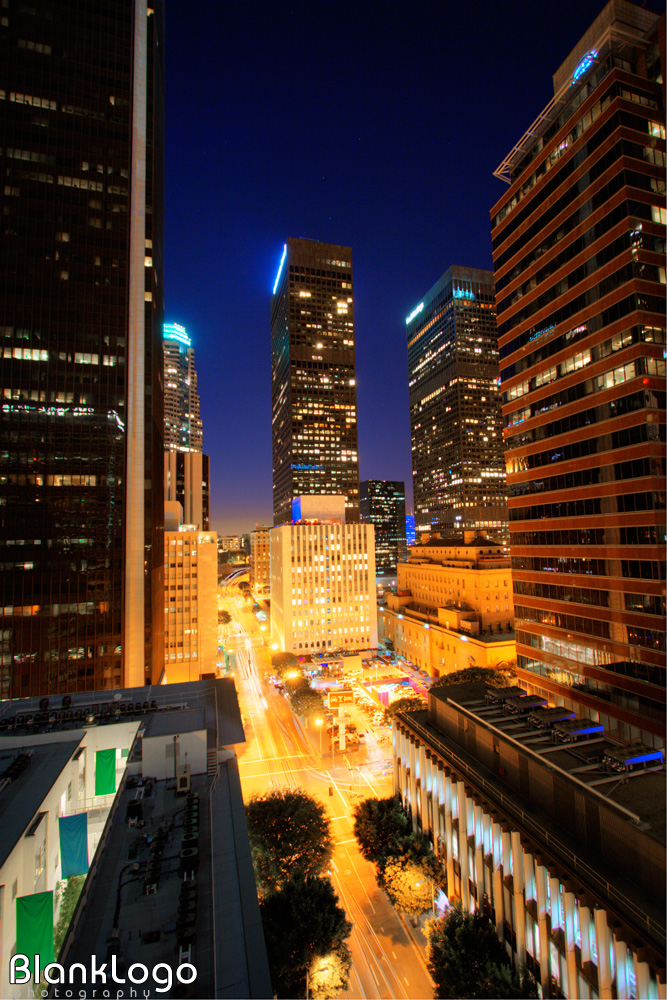 Downtown Los Angeles Night Hdr By Blanklogo On Deviantart