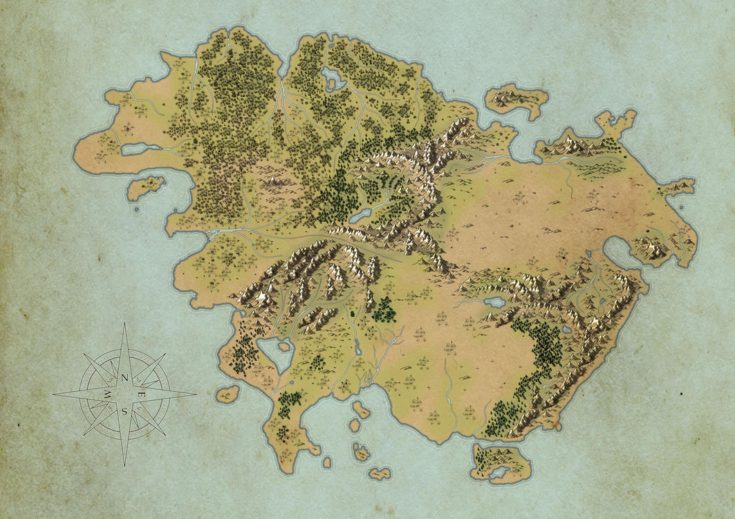 Worldbuilding Continent Map WIP By LancedART On DeviantArt - Free continent maps
