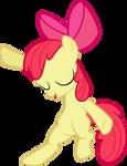 MLP: Apple Bloom showing her dance moves v2