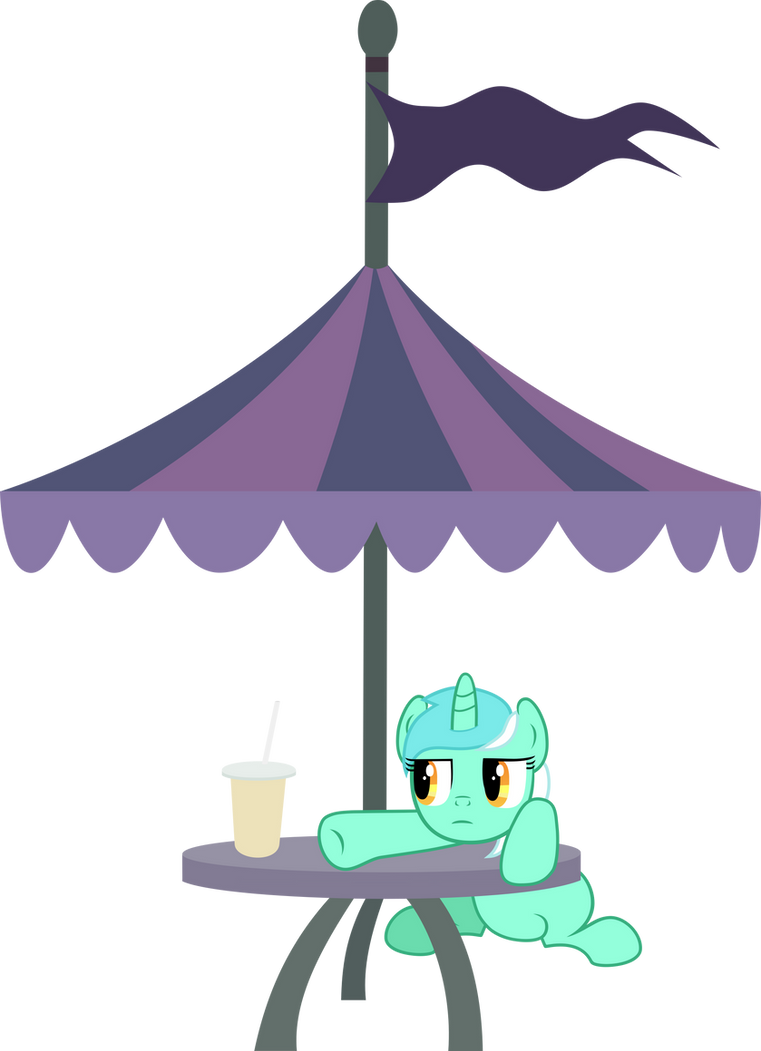 Lyra Sitting Vector MLP: Lyra is annoyed b...