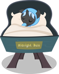 MLP: OC - Foal Midnight Bass (without background)