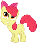 MLP: Apple Bloom smiling (v2)