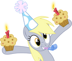 MLP: Derpy's muffin-party!