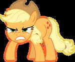 MLP: Angry Applejack :|