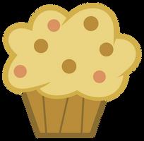 MLP: Derpy's muffin by FloppyChiptunes