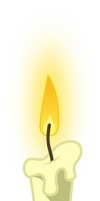 MLP: White candle by FloppyChiptunes