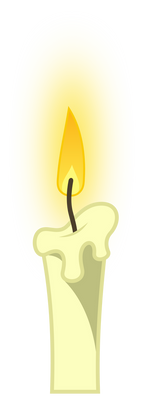 MLP: White candle