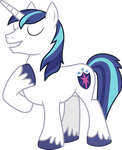 MLP: Shining Armor singing