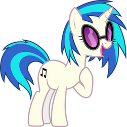 MLP: Vinyl Scratch aka DJ Pon-3 singing