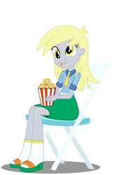 YayPonies - Muffin eating human Derpy