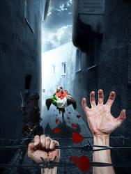 [Powerless] - Gaza 2014 by Silver786