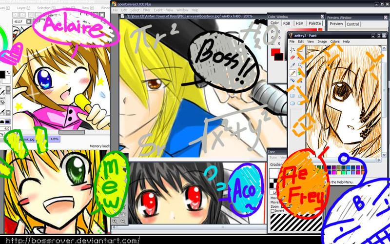 Ori on desktop by BossRover