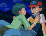 Ash and Angie in love sight