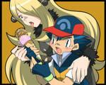 Ash and Cynthia