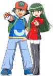 Ash and Sabrina