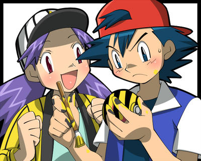 Pokemon ash and melody ash and dawn4 years ago in