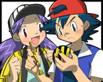 Ash and Casey