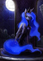Princess Luna by maocha