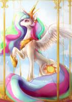 Princess Celestia by maocha