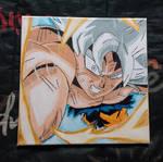 Toile Dragon Ball Super Son Goku Migatte no Gokui