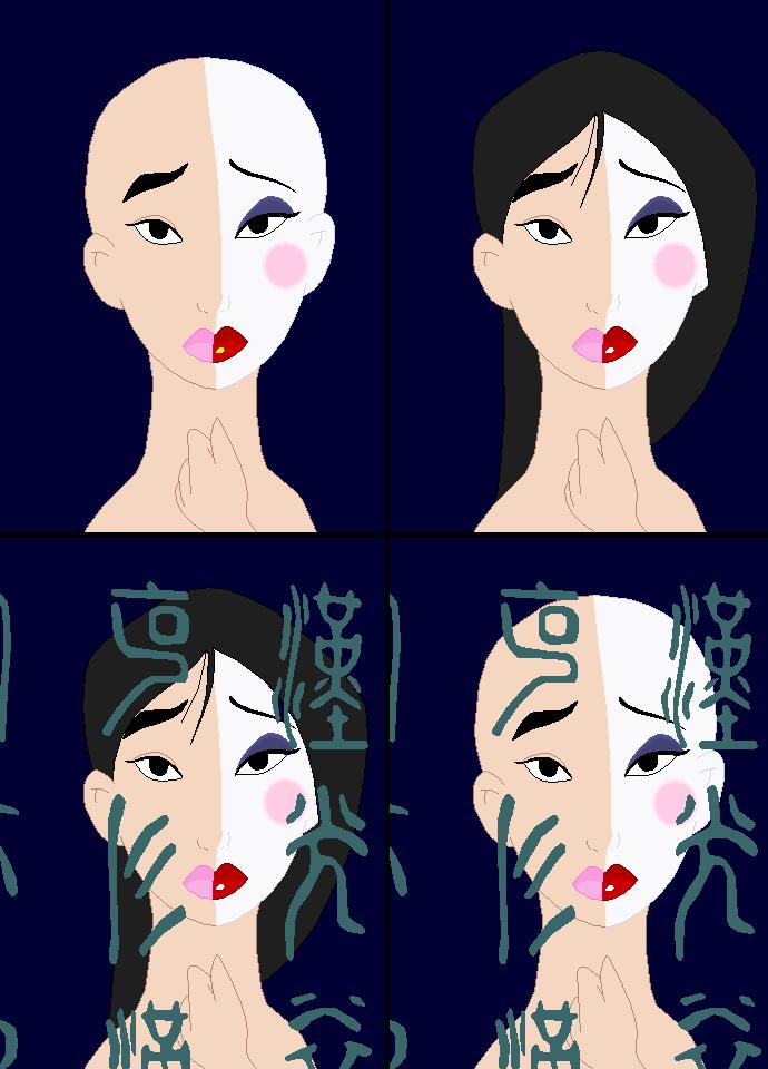 Mulan Makeup Scene