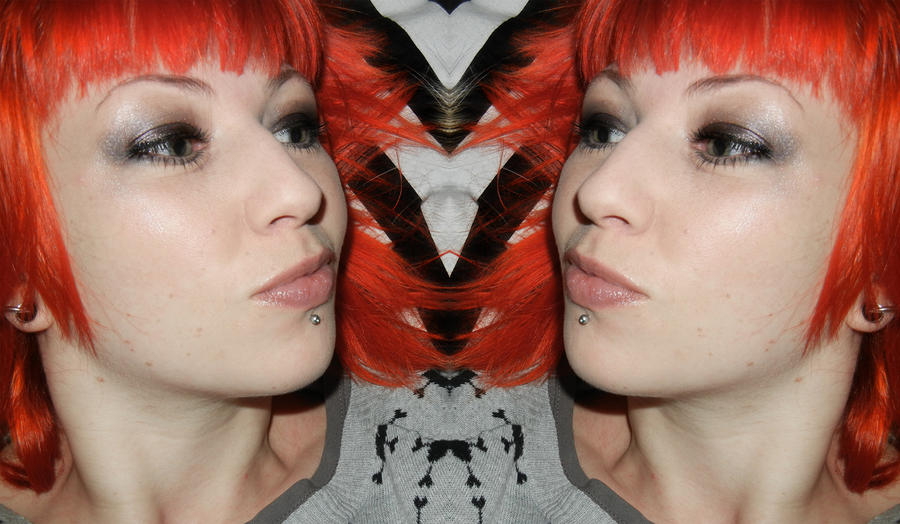 Redhead mirror twins by missfoxlicious on deviantart for Mirror twins