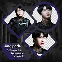PNG PACK MONSTA X HYUNGWON // JIAKEMI by Jiakemi