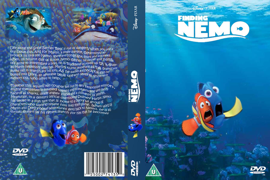 Re-creation Finding Nemo DVD by z0enatasha on DeviantArt