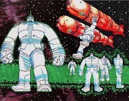 Robot 'Big Guy' by MDMacKay