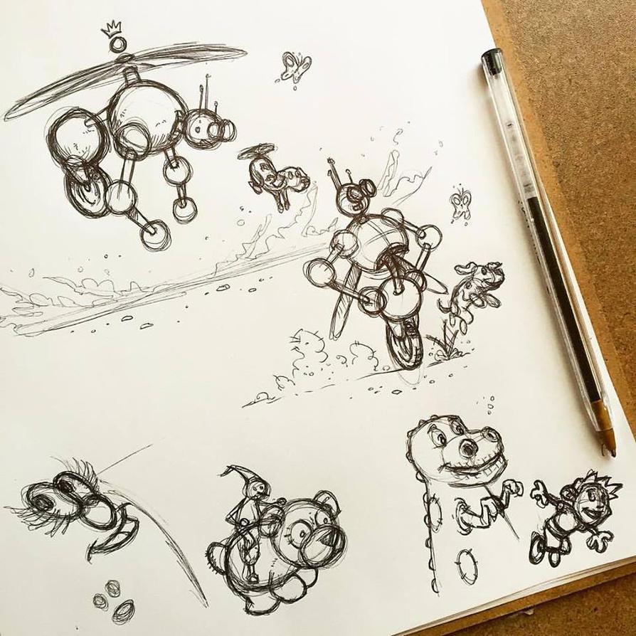 Fun Doodling by MDMacKay