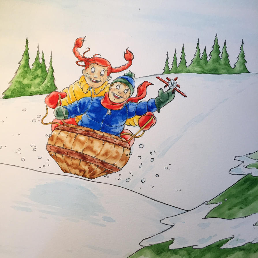 Childrens Book Illustration by MDMacKay