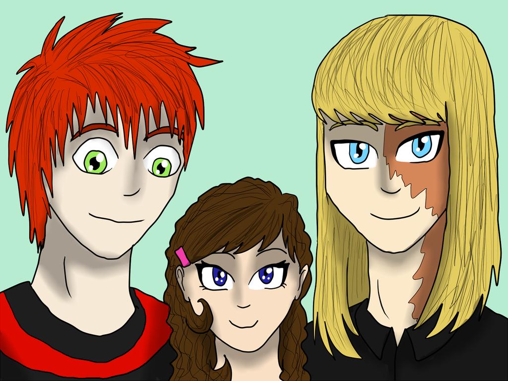 Family Portrait by Lilium32