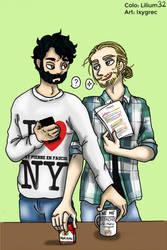 So give me coffee and marlbo'