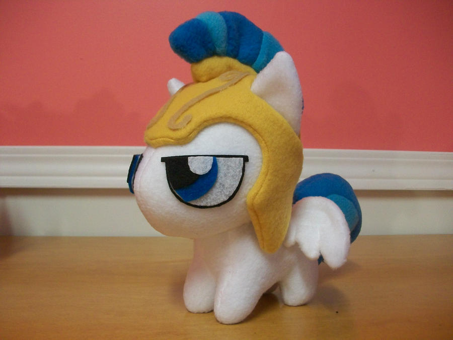 Canterlot Guard Chibi Pony MLP FIM by happybunny86
